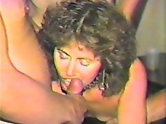 This gangbang porn video is from the depth of archives