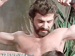 Vintage Gay S&M Feature Film: Centurians Of Rome, Scene 1