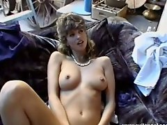 Vintage threesome with two funky busty chicks and one boy