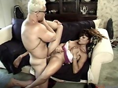 Shemale older pounded hard