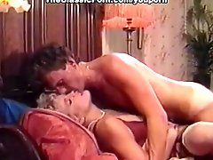 Retro orgasm in missionary position