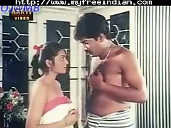 South Indian girl in softcore scene