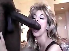 .Tiny white chick ... huge black dick
