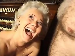 German Classic Mature Ass Drilled