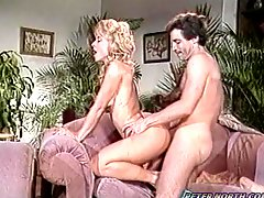 Nina Hartley gets her pussy, ass and mouth fucked
