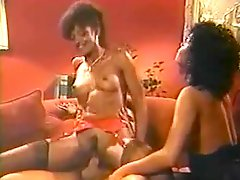 Ron Jeremy fucks two black girls