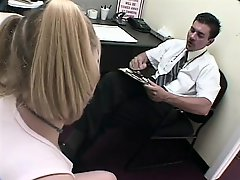 Barely legal blondie fucks her driving instructor to get the license