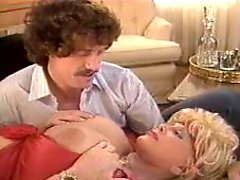 John Holmes and Candy Samples in Orgy