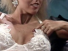 Retro blonde is needy to fuck
