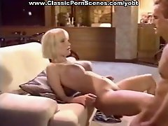 Sexy blonde is horny