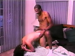 Experienced lady Ginni Lewis receives a boning from some dark meat