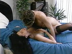 Horny wife has to persuade him to fuck her