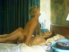 Handsome mature man eats out wet pussy before having steamy mish style sex