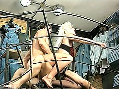 Helen Duval, Beautiful Blond in Lingerie, Anal Dp Rampage, vintage