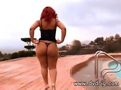 Redheaded Slut With Perfect Booties Luscious..