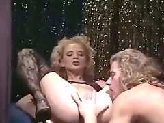 Horny long haired dude fucks hard beautiful vintage blonde