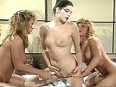 Barbara Dare in Three Way Classic Porno