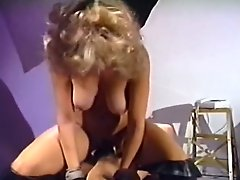 Tall and leggy blondie rides her mans dick in cowgirl position