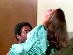 Beauty has interracial anal sex in retro movie
