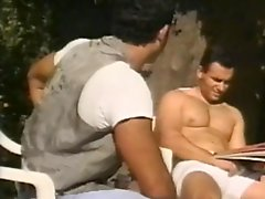 Dane Winters and Michael Ashley fuck at the poolside