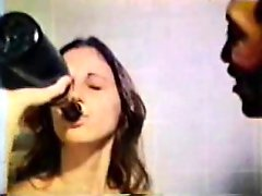 Champagne and a Big Black Cock