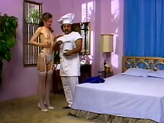 Deep Throated Christine Robbins Gets Fucked By Ron Jeremy - Retro Porn Scene