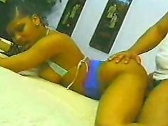 Chocolate Beauties Get Pounded