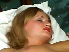 Hot blonde Russian wife is cheating and being watched by strange one