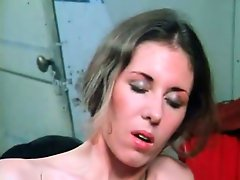 Lesbian fun in the backroom with two filthy horny strippers