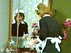 Classic Blond Maid Orgy