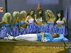 Cheerleaders of 1990s porn