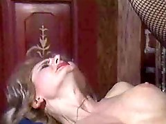 Vintage threesome with anal fuck