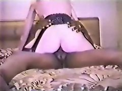Vintage blonde wife with black lover