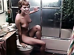 Lady lust. toilet scene