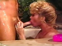 Betty Jean Bradley sucks Rocco Siffredis cock and gets a cumshot on her boobs