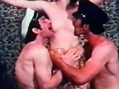 While the Cats Away 1972 (Threesome erotic scene) MFM