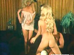 Ginger Lynn & Danica Rhea 3way