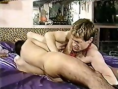 Two gay boys in a vintage movie eat cock and bang the ass
