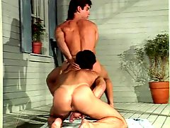 Vintage Bareback action: Joey Stefano and Ryan Idol