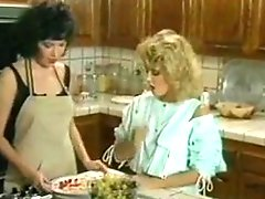 Ginger Lynn & Kristara Barrington - Kitchen Sex