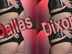 Dallas Dixon recreates an old-time striptease show in a retro-video...
