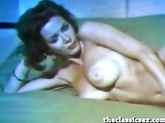 Busty vintage beauty with amazing tits