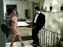 Dude tied and teased by clothed women