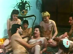 Thrilling group sex video filled with lewd nymphos