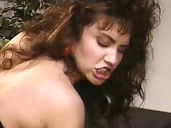 Tasteful and kinky curly bitch Frannie Talbot has an old-fashioned banging