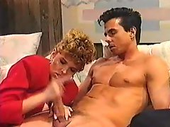 Classic porn goddess fucked by Peter North