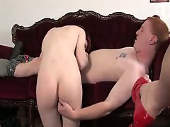 Couple of Redheads get down to fucking and sucking