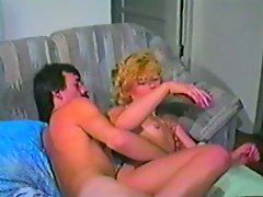 Retro blond slut gets her asshole banged deep in hardcore video