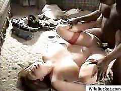 Beautiful amateur wife and black lover