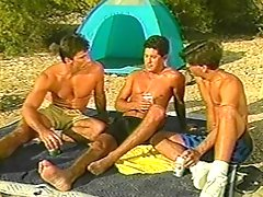Joey Stefano, Nick Romano and Roberto Arias